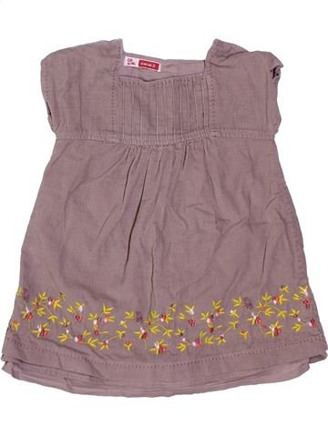 Robe fille DPAM violet 12 mois hiver #1400907_1