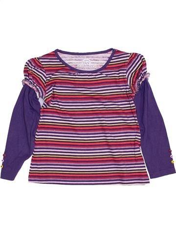 T-shirt manches longues fille ETIREL violet 5 ans hiver #1400920_1