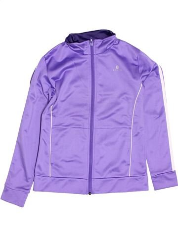 Sportswear fille DOMYOS violet 10 ans hiver #1400934_1