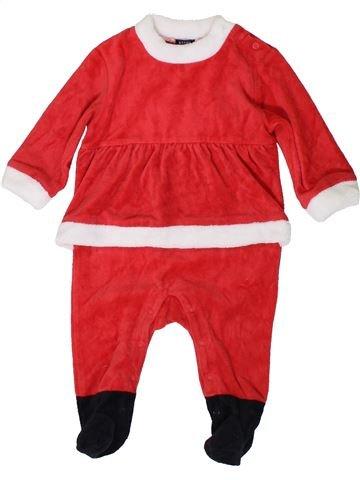 Pyjama 1 pièce fille KIABI rouge 12 mois hiver #1400952_1