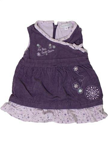Vestido niña KIMBALOO violeta 1 mes invierno #1400961_1