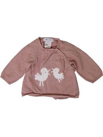 jersey niña LA REDOUTE CRÉATION violeta 1 mes invierno #1400964_1