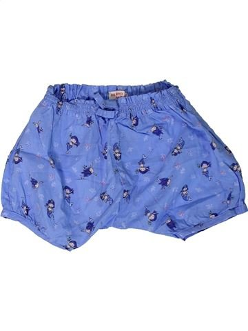 Short - Bermuda fille DPAM bleu 9 mois été #1400973_1
