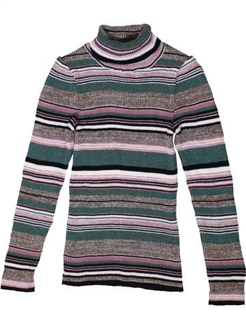 Pull fille NEXT gris 10 ans hiver #1400976_1