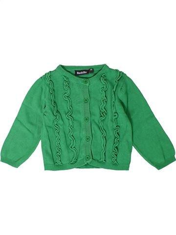 Gilet fille BEL & BO vert 2 ans hiver #1400997_1