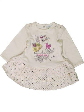 Vestido niña DISNEY blanco 3 meses invierno #1401026_1