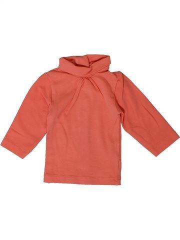 T-shirt col roulé fille KIABI rose 1 mois hiver #1401037_1