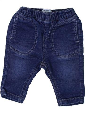 Tejano-Vaquero niño VERTBAUDET azul 3 meses invierno #1401046_1
