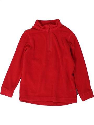 jersey niño GO SPORT rojo 4 años invierno #1401180_1