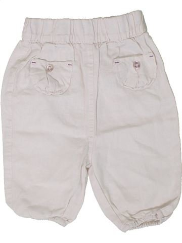 Pantalón niña TAPE À L'OEIL blanco 12 meses verano #1401237_1