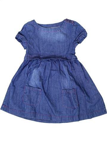 Robe fille VERTBAUDET bleu 6 ans été #1401260_1