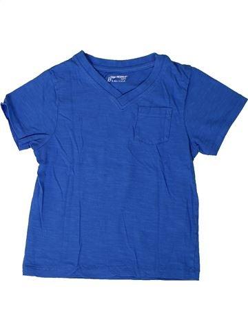 T-shirt manches courtes garçon ORCHESTRA bleu 6 ans été #1401284_1