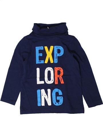 Camiseta de cuello alto niño C&A azul 4 años invierno #1401291_1