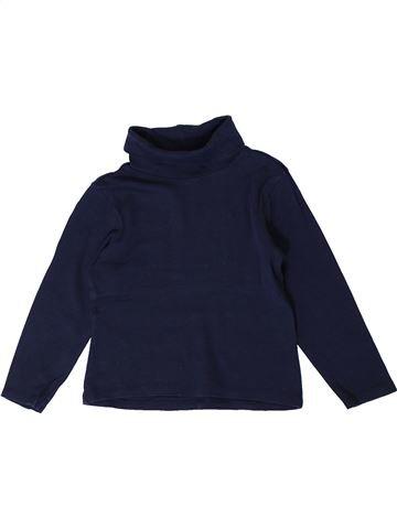 T-shirt col roulé garçon ORCHESTRA noir 5 ans hiver #1401303_1