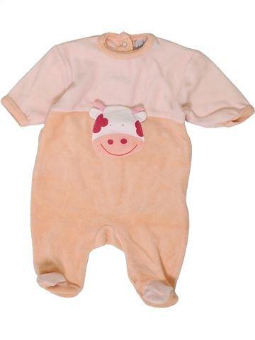 Pijama de 1 pieza niña KIABI beige 0 meses invierno #1401321_1