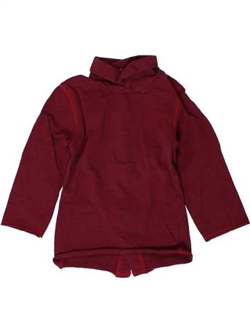 T-shirt col roulé fille KIABI violet 9 mois hiver #1401324_1