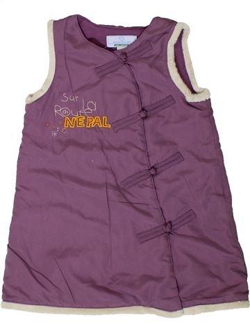Vestido niña VERTBAUDET violeta 12 meses invierno #1401325_1
