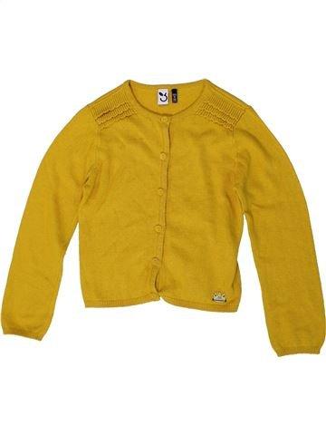 Gilet fille 3 POMMES jaune 2 ans hiver #1401345_1
