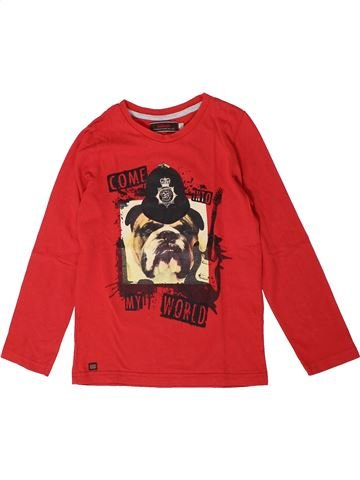 T-shirt manches longues garçon CATIMINI rouge 8 ans hiver #1401395_1