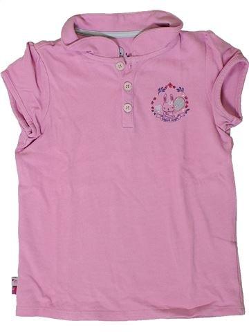 Polo de manga corta niña SERGENT MAJOR rosa 6 años verano #1401445_1