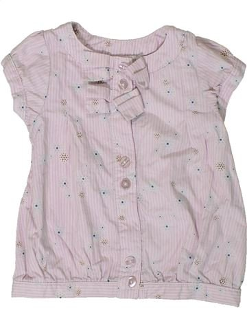 Blusa de manga corta niña TAPE À L'OEIL gris 9 meses verano #1401483_1