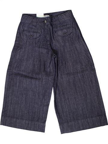Pantalón corto niña VERTBAUDET gris 7 años verano #1401493_1