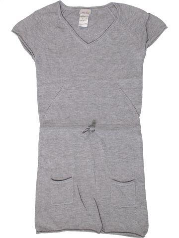 Vestido niña VERTBAUDET gris 6 años invierno #1401502_1