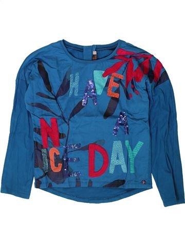 Camiseta de manga larga niña CATIMINI azul 6 años invierno #1401554_1