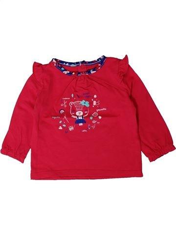 Camiseta de manga larga niña SERGENT MAJOR rojo 12 meses invierno #1401608_1