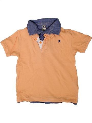 Polo de manga corta niño TAPE À L'OEIL naranja 5 años verano #1401619_1