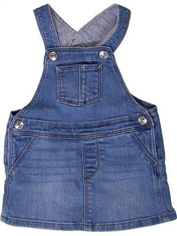 Vestido niña H&M azul 9 meses invierno #1401622_1