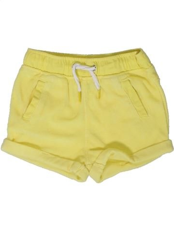 Short - Bermuda fille ORCHESTRA jaune 12 mois été #1401625_1