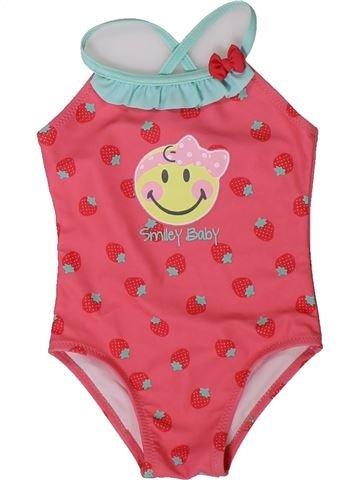 Bañador niña SMILEY rosa 12 meses verano #1401635_1