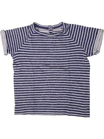 T-shirt manches courtes fille CFK bleu 8 ans été #1401647_1
