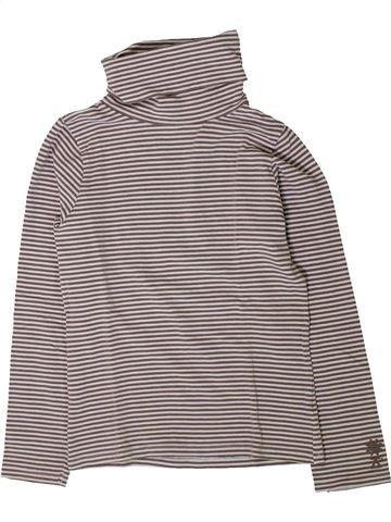 T-shirt col roulé garçon OKAIDI gris 8 ans hiver #1401675_1