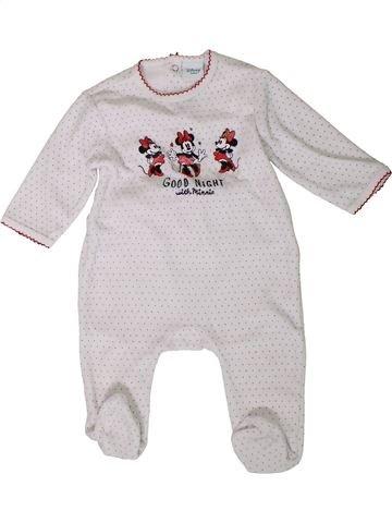 Pijama de 1 pieza niña DISNEY blanco 9 meses invierno #1401735_1