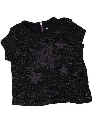 Pull fille DPAM noir 3 ans hiver #1401745_1