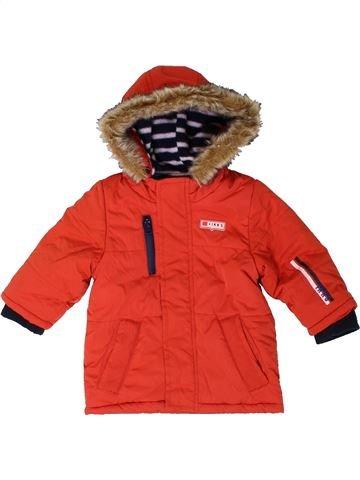 Abrigo niño IKKS rojo 6 meses invierno #1401774_1