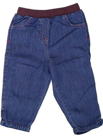 Pantalon fille LES BEBES SONT COMME ÇA bleu 6 mois hiver #1401794_1