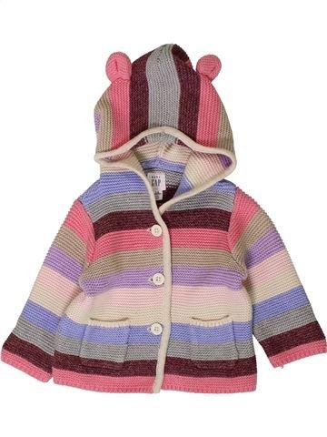 Gilet fille GAP violet 6 mois hiver #1401805_1
