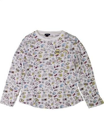 T-shirt manches longues fille KIABI gris 6 ans hiver #1401823_1