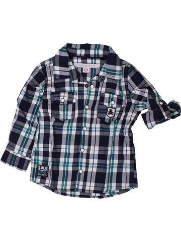 Chemise manches longues garçon LULU CASTAGNETTE gris 18 mois hiver #1401838_1