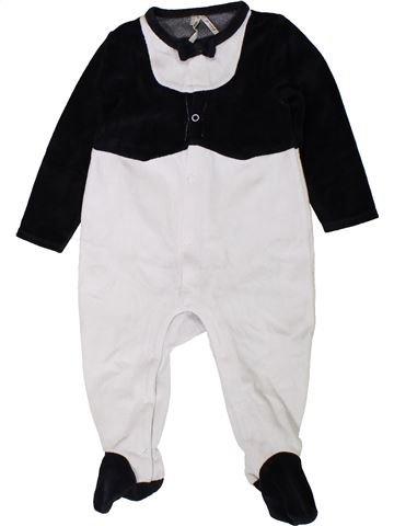 Pijama de 1 pieza niño ORCHESTRA blanco 18 meses invierno #1401869_1