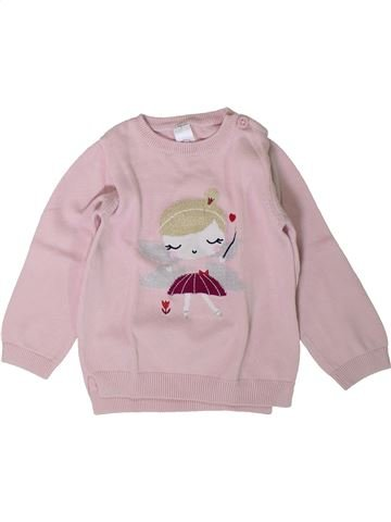 Pull fille C&A gris 2 ans hiver #1401875_1
