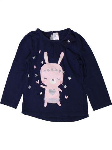 Camiseta de manga larga niña C&A negro 2 años invierno #1401880_1