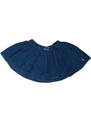 Falda niña OKAIDI azul 2 años invierno #1401883_1