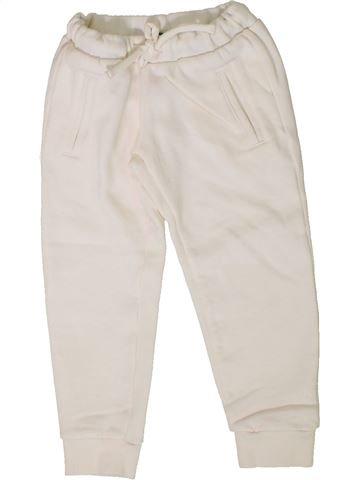 Pantalón unisex BENETTON blanco 4 años invierno #1402007_1