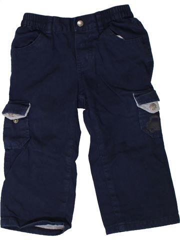 Pantalón niño VERTBAUDET negro 18 meses invierno #1402019_1