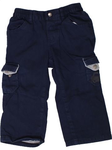 Pantalon garçon VERTBAUDET noir 18 mois hiver #1402019_1
