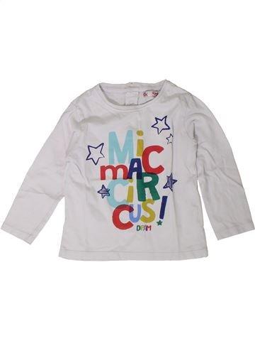 Camiseta de manga larga niño DPAM blanco 2 años invierno #1402038_1